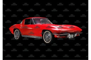Chevrolet Corvette Stingray 1963 (angle view)